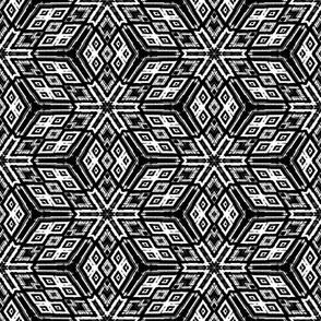 Cubic Kaleidoscope - Black