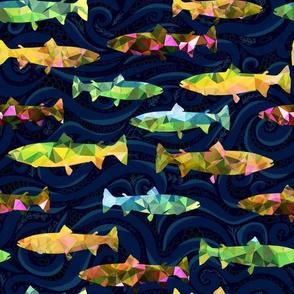 Hillside Rainbow Salmon
