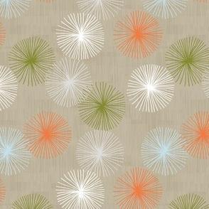 Small Dandelions M+M Confetti Latte by Friztin