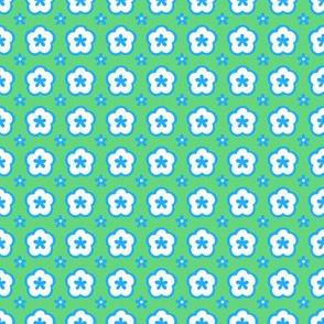 Blue Green motif