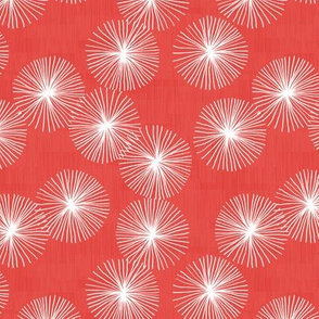 Small Dandelions M+M Goji by Friztin