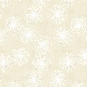 Small Dandelions M+M Vanilla by Friztin