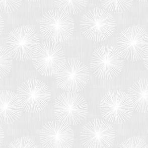 Small Dandelions M+M Fog by Friztin