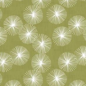 Small Dandelions M+M Lentil by Friztin