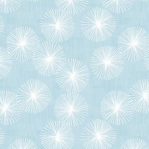 Small Dandelions M+M H2O by Friztin