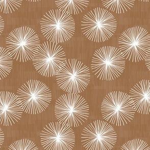 Small Dandelions M+M Cocoa by Friztin