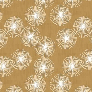 Small Dandelions M+M Coriander by Friztin