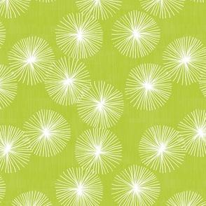Small Dandelions M+M Pea by Friztin