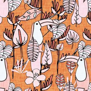 tropical surrealism Orange