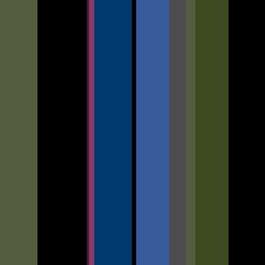 Summer Solstice - dark stripes - standard