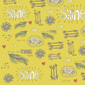 shine bravely doodles