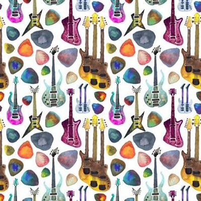 Guitars and Picks