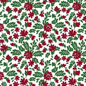 Angelica Floral Christmas