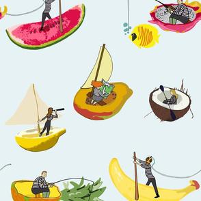 Tropical sailing