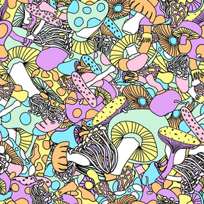 50s psychedelic mushrooms