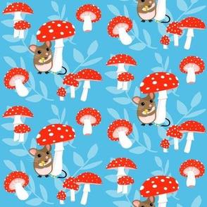 mushrooms and mice