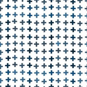 Oceans Away Blue Crosses