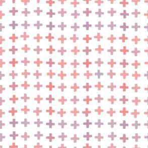 Coral Crosses