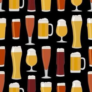 Beer Glasses - Black
