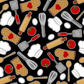 In the Kitchen - Black