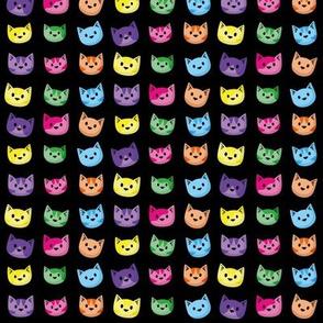 Rainbow Heads Black