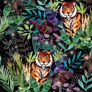 jungle black tiger