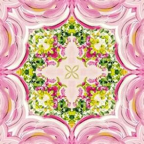Gypsy Garden Floral Mural No. 19