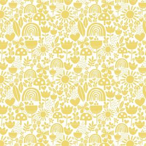 paper cut yellow