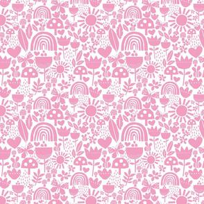 paper cut pink