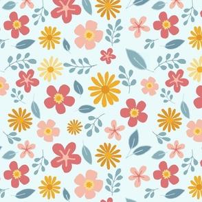 Pastel Summer Florals