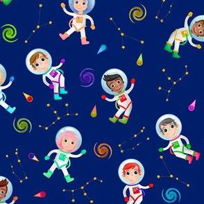 Watercolor Astronauts
