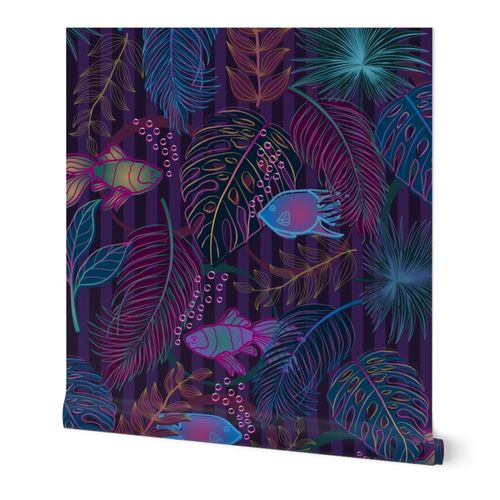 Neon Fish in the Jungle