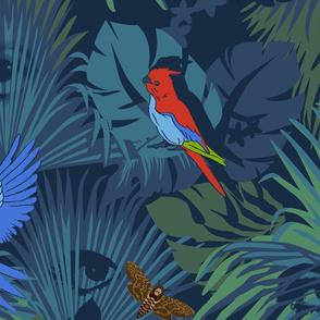 Un Perroquet Andalou Large