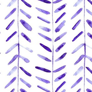Amethyst watercolor abstract geometrical pattern for modern home decor bedding nursery painted brush strokes herringbone p323