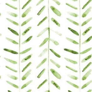 Khaki watercolor abstract geometrical pattern for modern home decor bedding nursery painted brush strokes herringbone green