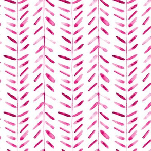 Berry vibes -  watercolor abstract geometrical pattern for modern home decor bedding nursery painted brush strokes herringbone p323
