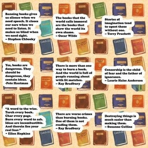 Banned Books with quotes