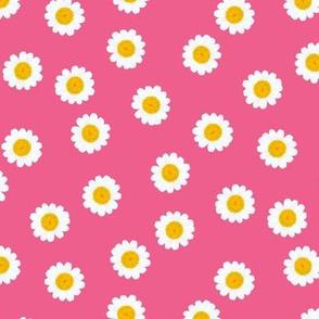 Mini Daisies Pink