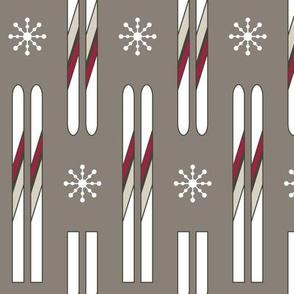Vintage Skis (Woodland)