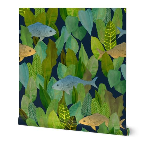 Forest of Fish {Emerald}
