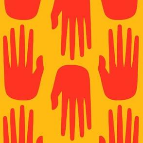 hopewell hand marigold shades