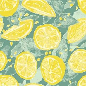 Making Lemonade Ice Blue