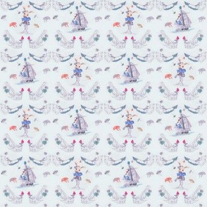 Tiny Size of Sweet Dreams Toile de Jouy