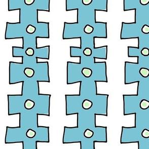 knobby Doodle Dot 2 (deep sky blue)