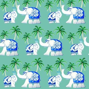 elephants mint with palms better