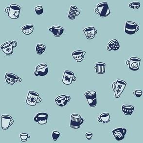tiny mugs and teacups - sky
