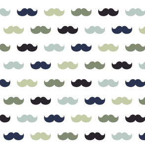XXL moustaches custom dali color scheme