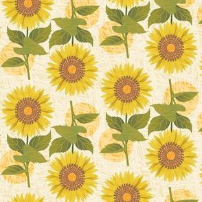 Sunflowers & Sun