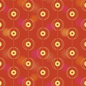 Tassel door curtain | red