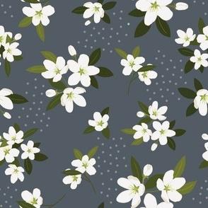 Summer Blossom  in Slate